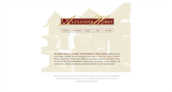 Preview of alexanderhomes.ws
