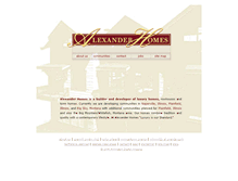 Tablet Preview of alexanderhomes.ws